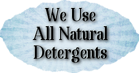 Qdokie We Use All Natural Detergents