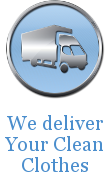 We Deliver Your Clean Clothes
